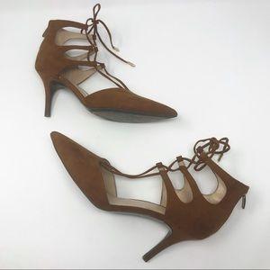 Marc Fischer tan heels